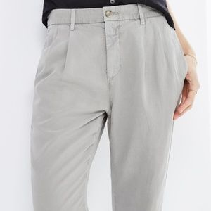 AG The Evan relaxed pleated trousers